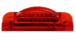 M020340R 3/4'' X 4'' Red Clearance Marker
