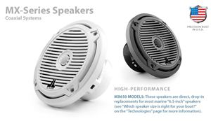 Marine MX-Series Speakers