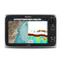 RAYMARINE e-Series e127 Network Multi-function Display with Wireless Capability, 12.1'' Diagonal, Sonar, US Coastal Chart